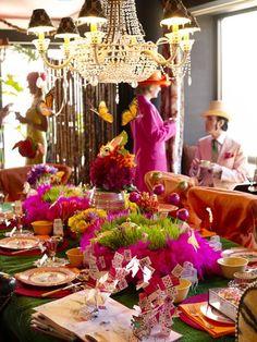 Tea party decor
