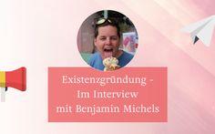 Bist du gerade dabei dein Unternehmen zu gründen und weißt nicht wie? Benjamin Michels ist Existenzgrüner- und Unternehmenscoach. Er hat auch mir damals sehr geholfen. In diesem Interview kannst du einiges von ihm lernen und erfahren.
