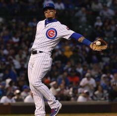 Javier Baéz - Chicago Cubs #9 Chicago Cubs Baseball, Baseball Boys, Baseball Players, Baseball Cards, Baez Cubs, Mlb, Cubs Win, Go Cubs Go, South Bend