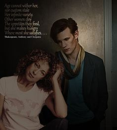 River and the Doctor, click through to a wonderful page filled with pictures and gifs of Alex Kingston.
