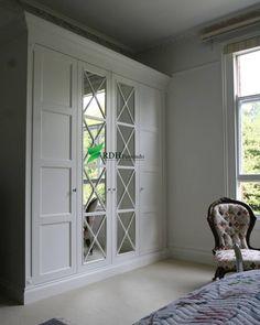 36 ideas for ikea closet doors Bedroom Closet Doors, Wardrobe Doors, Bedroom Wardrobe, Built In Wardrobe, Mirrored Wardrobe, Fitted Bedroom Furniture, Modern Bedroom, Balkon Design, Closet Layout