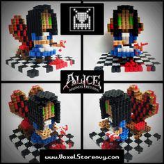 Alice (Madness Returns) by VoxelPerlers on deviantART