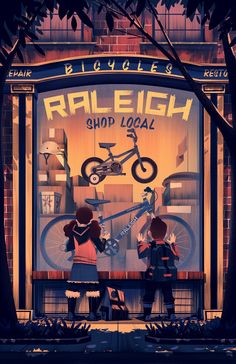 2014 ·Raleigh Holiday Poster