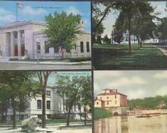 Iowa Postcards Choose One Ames Mason City Cedar Falls Lime Creek And Mill Public Library Post Office Edit Listi Postcard Cedar Falls Mason City