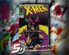 UNCANNY X-MEN # 257 DE JIM LEE. PARTE DE ACTS OF VENGEANCE $ 80.00 Para más información, contáctanos en http://www.facebook.com/la5aDimension