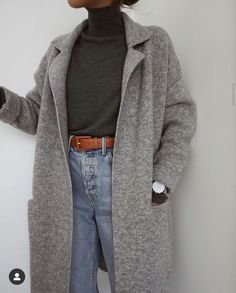 i love clothes Winter Fashion Outfits, Fall Winter Outfits, Look Fashion, Autumn Winter Fashion, Korean Fashion, Fashion Tips, Autumn Style, Fashion Hacks, Classy Fashion