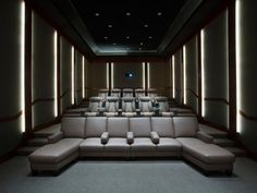 Cedia Awards 2014, Home Theaters #6: 3D theater with interesting seating options