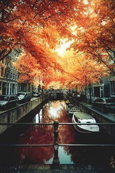 italian-luxury:Amsterdamn Autumn |Source | Italian-Luxury | Instagram