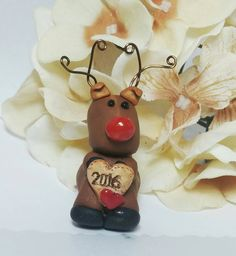Check out this item in my Etsy shop https://www.etsy.com/listing/474719304/reindeer-ornament-christmas-ornament