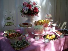 Catering Idea for a birthday