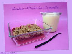 Schnin's Kitchen: Himbeer-Rhabarber-Crumble