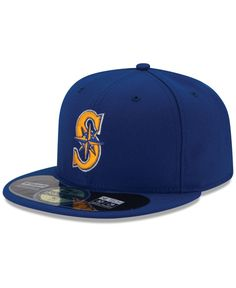 8e336f4d4a New Era Seattle Mariners Authentic Collection 59FIFTY Cap Mlb Baseball  Caps