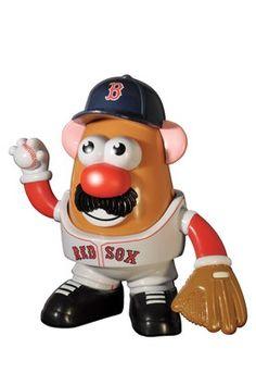 Boston Red Sox #MLB Mr. Potato Head | #Stonehill #College #Baseball #Boston