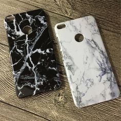 Marble Pattern Hard PC Case for huawei p8 lite 2017 Case Classic Black White Granite Stone Cover Cases for huawei p8 lite 2017 #Affiliate