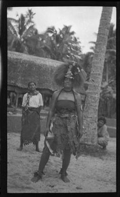 Samoan headdress called the Tuiga