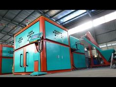 Automatic bottle blow molding machine, 7000 bottles/hour