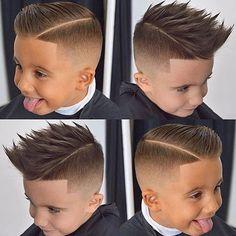 Diferentes cortes de cabello para ninos