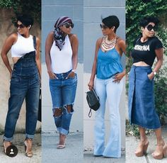 Cute Casual Outfits for the Summer Black Girl Fashion, Cute Fashion, Look Fashion, Autumn Fashion, Chic Outfits, Summer Outfits, Fashion Outfits, Fashion Mode, Womens Fashion