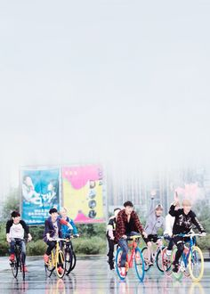 Cycling tour with exo :P