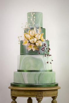 find singles trend/cake-trend-alert-marbled-wedding-cake-made-with-satin-ice-sara_paris_torte_c/ people junge mädels sexy Diy Wedding Cake, Floral Wedding Cakes, Amazing Wedding Cakes, Elegant Wedding Cakes, Elegant Cakes, Wedding Cake Designs, Wedding Cake Toppers, Amazing Cakes, Wedding Flowers