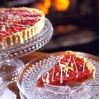 Cranberry Nut Tart - I can imagine it taste good in the...
