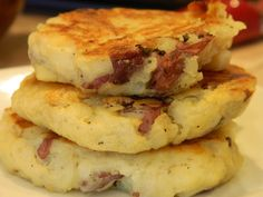 This is a great way to spice up your leftover mashed potatoes. My grandma used to make potato cakes when I was a kid and they remind me of ...
