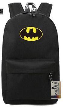 Batman Star Leisure Large-Capacity Multifunctional Good Quality School Backpack 13 Colors