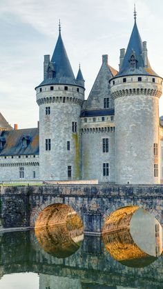 Chateau de sully-sur-loire, France, castle, travel, tourism