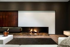 Contemporary fireplaces by Weldor