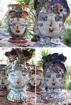 Mary-McMahon mosaics picassiette planters