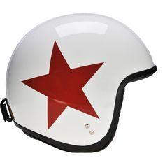DAVIDA with white & red star