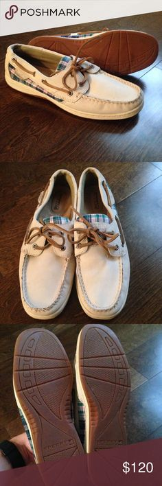 Sperry - New, Never Worn Never worn plaid and cream Sperrys Sperry Top-Sider Shoes