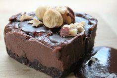 Tarta de cuajada y chocolate con Thermomix