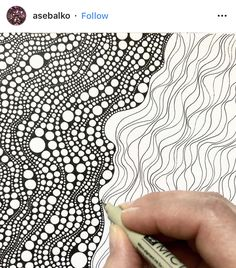 45 Super Cool Doodle Ideas is part of Cute Sad drawings God - Get your doodle inspiration idea here with 45 cool and easy doodle ideas for sketchbooks, bullet journals, and definitely when you're taking notes Doodles Zentangles, Zentangle Drawings, Abstract Drawings, Zentangle Patterns, Doodle Drawings, Doodle Art, Zen Doodle Patterns, Doodle Borders, Abstract Oil