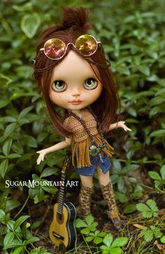 My Little Rock Star. Crocheted Halter Top by SugarMountainArt