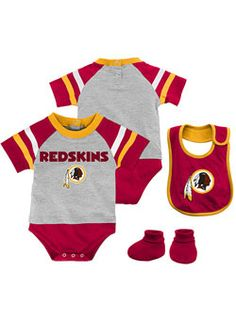 e98f4da81 Washington Redskins outfit just for daddy ❤ Baby Boy Outfits