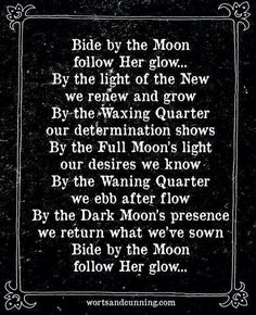 Bide By The Moon