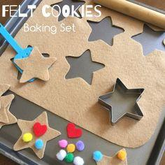 A fun felt cookies b
