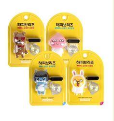 Kakao Talk Friends Cute Characters Car Vechicle Air Freshener Set  (4pcs) #Unbranded