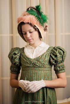 Historical Costume, Historical Clothing, 1800s Fashion, Vintage Fashion, Viktorianischer Steampunk, Regency Dress, Regency Era, Jane Austen, Old Dresses