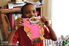 Learning about Taste Buds Paper Tongue Craft