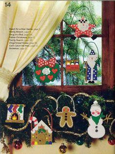 Como hacer Manualidades para Navidad: Ornamentos navideños en Foami Gomaeva 02