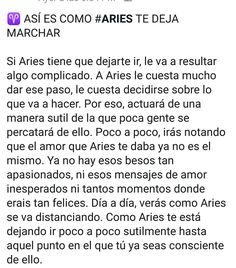 aries horoscope meaning in english