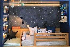 unglaublich 39 Inspiring and Creative Baby Boy Room Ideas Nursery Ideas Bett SelberBauen Paletten Kopfteil Dekoration Holz ideen