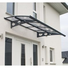 Astonishing Cool Tips: Garden Canopy Side Door canopy facade.Canopy Park canopy bed with lights. Backyard Canopy, Garden Canopy, Patio Gazebo, Pergola Roof, Patio Roof, Marquise, Polycarbonate Roof Panels, Window Awnings, Acrylic Panels