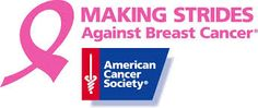 Our client, American Cancer Society! Proud to represent them as they continue to make strides against breast cancer!!!