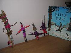 Stick man craft