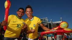 Excitement builds ahead of the 2014 FIFA World Cup in #Brazil....