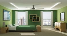 Descubre cuales son los colores relajantes más recomendados para utilizarlo en la decoración de dormitorios modernos, elegantes y realmente confortables.