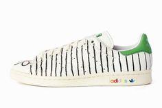 PHARRELL'S HAND-PAINTED €500 STAN SMITHS | Sneaker Freaker